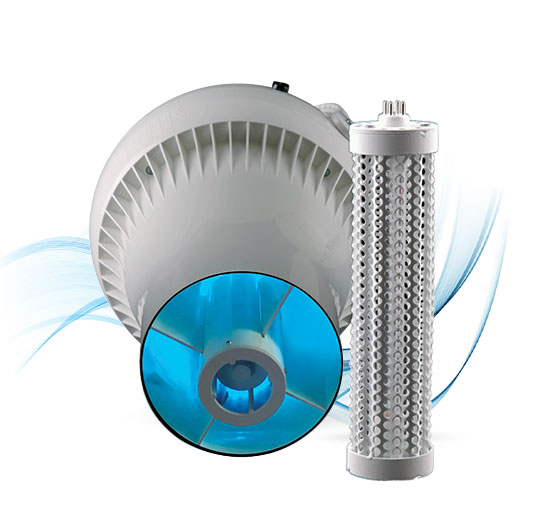 Airius-PureAir-Fan-with-Integrated-PHI-Air-Purification-Cell